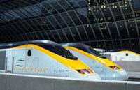 EuroStar trains make up to sixteen runs to Paris each day with nine stops in Lille